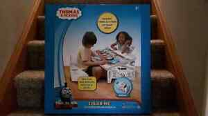 Thomas & Friends Color Me Drawing Table & Chairs Set