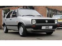 VW VOLKSWAGEN GOLF MK2 1991 1.3 5DR SILVER VERY LOW MILES NOT MK1 OR MK3
