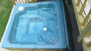 HOT TUB $1,000 ready to drain for pickup