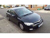 Honda Civic hybrid 2007 £10 road tax automatic