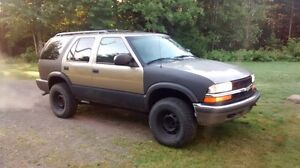 trade my 4x4 blazer for motorcycle