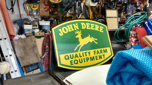 JOHN DEERE  CASE IH  FORD TRACTOR  SIGNS