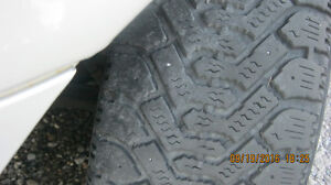 goodyear nordics  winter tires on pontiac rims Peterborough Peterborough Area image 6