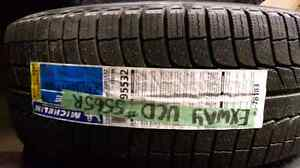 BRAND NEW Michelin PR235/55R17 Winter tires and aluminum rims in Kitchener / Waterloo Kitchener Area image 2