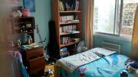 Sous-location chambre dans un 4 1/2 Rosemont (Juin seulement)
