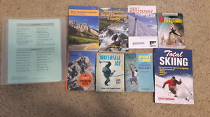 15 Outdoors Books - hiking, climbing, skiing