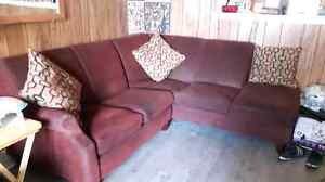Sectional couch with storage  Cornwall Ontario image 1