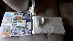 Perfect condition Wii and 7 games