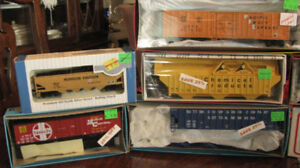 Premium HO Scale Trains - Refer to below list