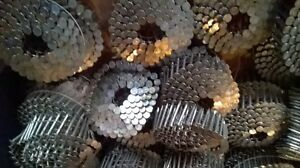 1 1/4 Galvanized coil roofing nails