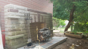 FREE fireplace mantle