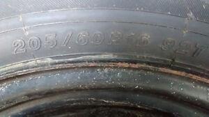 "4 pneus avec roues 16 """
