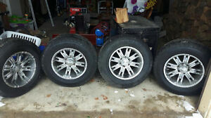 Eagle alloy rims and tires  6x5.5