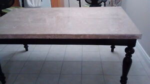 Beautiful granite table