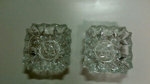3 Crystal Ashtray