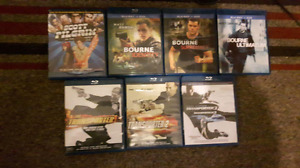 Blue Ray & DVD's for sale
