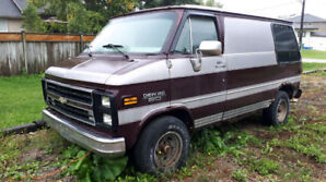 I'm looking to buy the interior of GMC camper Van or Chevr campe