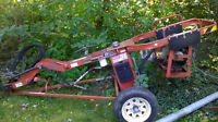 """Hydraulic auger with 8"""" bit"""