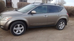 I have a 2004 Nissan Murano for sale