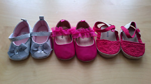 Baby Summer Shoes x 3 - Gap, Old Navy