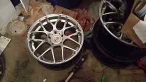 """19"""" Aventagarde Ruger Mesh wheels and tires"""