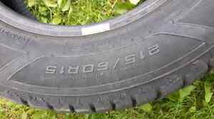 Studded winter tires only used 1 winter  St. John's Newfoundland image 1