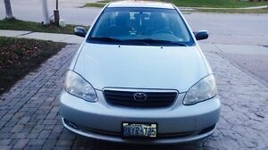 2005 TOYOTA COROLLA with 4 Extra Winter Tires & More! Kitchener / Waterloo Kitchener Area image 2