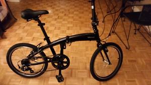 """Tekcoup folding bike 20"""" tires aluminum frame"""