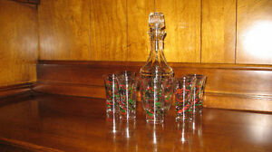 DECANTER SET - MADE IN ITALY