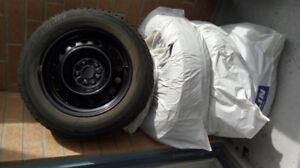Toyota corolla 4 winter tire & rims