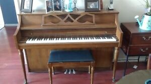 upright conn piano by Kimball