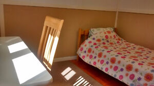 Beautiful home, furnished, bright and clean room for female