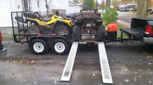 Package deal trailer and polaris