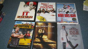 Small collection of DVDs