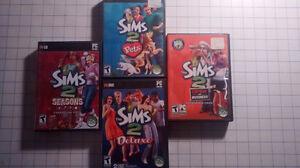 Lot de jeu de SIMS 2