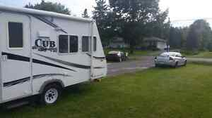 Cub travel trailer