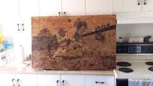 Aztec table Wood burning Gatineau Ottawa / Gatineau Area image 4