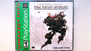Final Fantasy Anthology V VI PS1 Excellent Condition