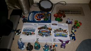 Nintendo Wii skylanders lot