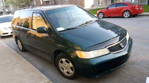 Honda odyssey  exl  2000