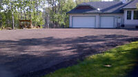 Acreage driveways,, RV Pads, Parking areas