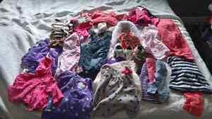 Infant Girls Clothing Lot