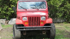 1994 Jeep YJ 4X4 6Cylinder 4.0 High output  5 Speed manual