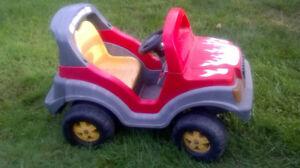 Jeep motorisé pour enfant