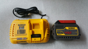 Dewalt DCB118 Charger and Battery