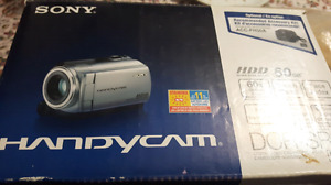 Sony handycam recorder 60gb hard disk drive hdd