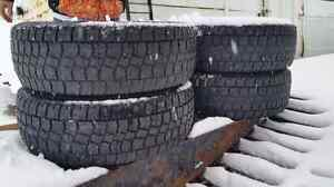 Used avalanche snowtires