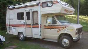 1987 ford frontier motorhome