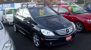 2007 MERCEDES BENZ B200 - $ 5899 /CERTIFIED + 1 YR WARRANTY