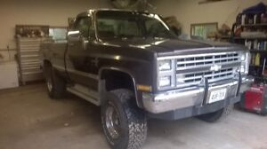 Wanted 1987 to 1981 Square Body 4x4 Chevrolet C/K Pickup Truck